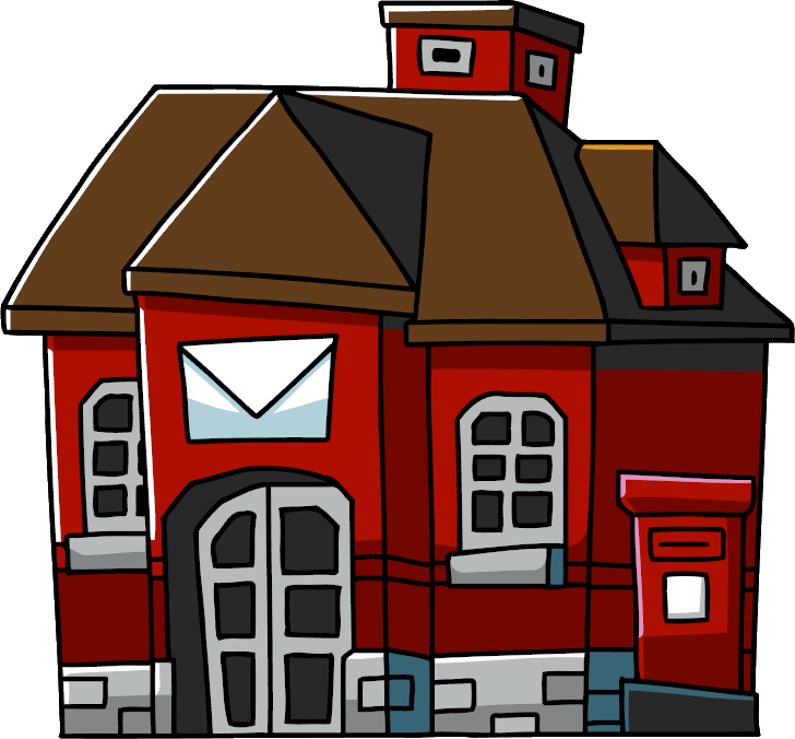 Png Post Office Hdpng.com 728 - Post Office, Transparent background PNG HD thumbnail