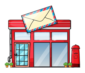 A Post Office - Post Office, Transparent background PNG HD thumbnail