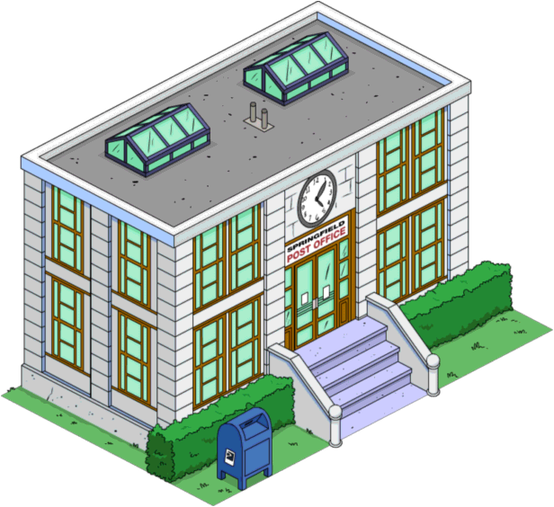 Post Office.png - Post Office, Transparent background PNG HD thumbnail