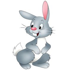 Png Rabbit Cartoon - Bunny Rabbit Clip Art, Transparent background PNG HD thumbnail