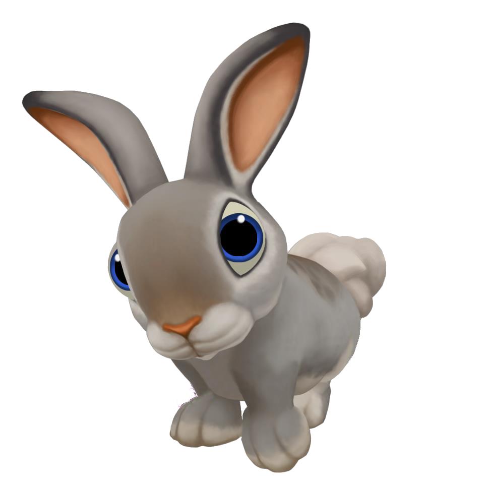 Png Rabbit Cartoon - Cartoon Rabbit Png Image #40332, Transparent background PNG HD thumbnail