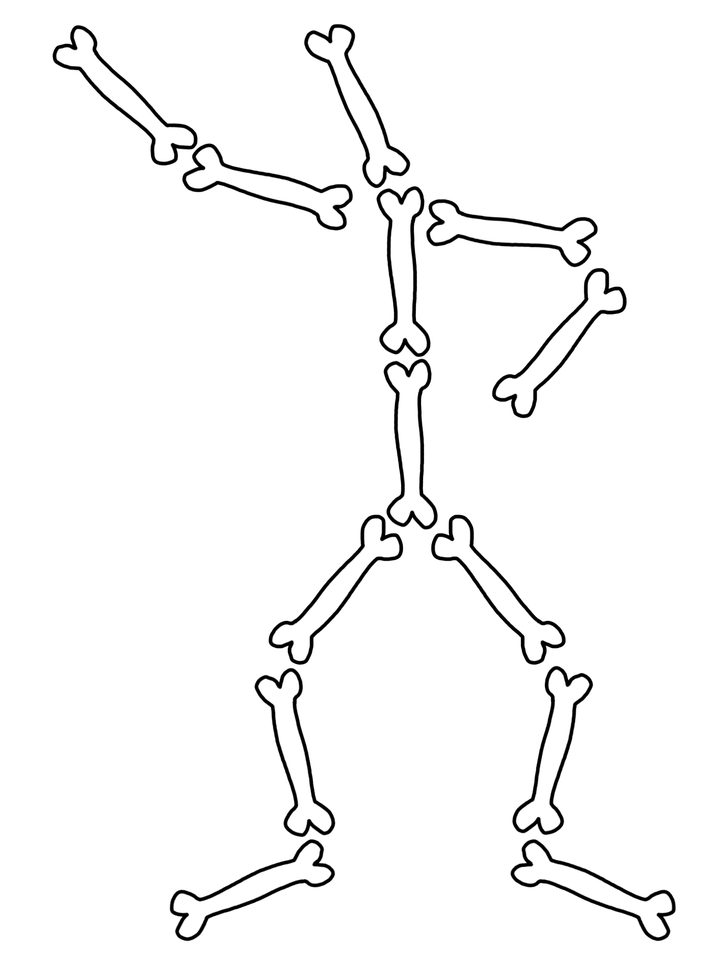 Png Skeleton Bones - Full Resolution Hdpng.com , Transparent background PNG HD thumbnail