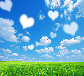 Png Sky Background - Blue Sky Background Love, Transparent background PNG HD thumbnail