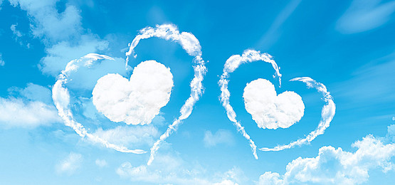 Png Sky Background - Creative Blue Sky Background Love, Love Peach, Baiyun, Landscape, Background Image, Transparent background PNG HD thumbnail