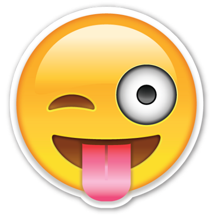 PNG Smiley Face With Tongue Out