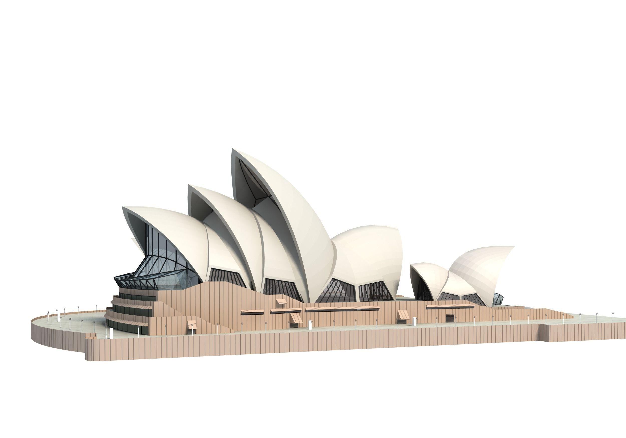 Png Sydney Opera House - . Hdpng.com Sydney Opera House 3D Model 3Ds C4D Dae Skp 12 Hdpng.com , Transparent background PNG HD thumbnail