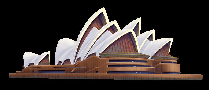 Png Sydney Opera House - Sydney Opera House Png Hd, Transparent background PNG HD thumbnail