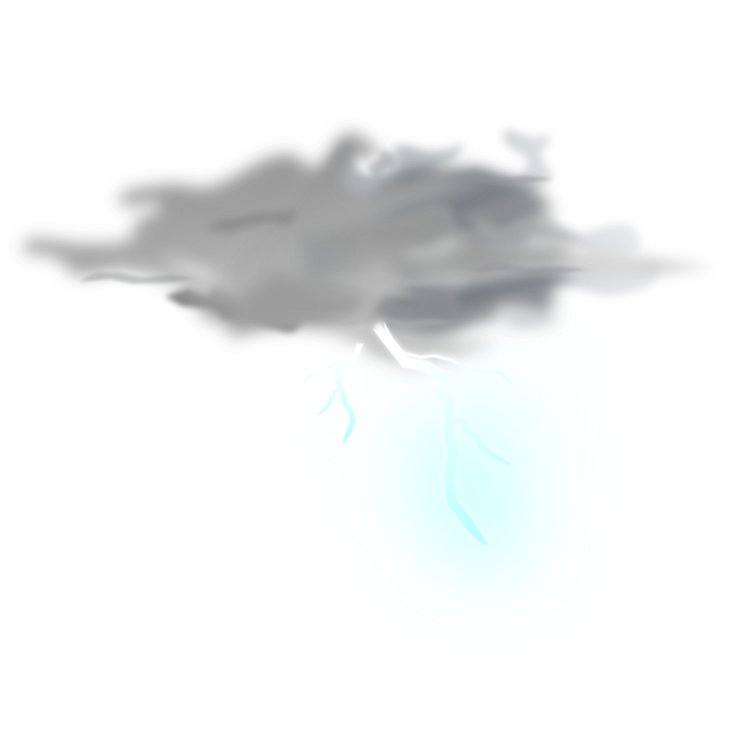 Big Image (Png) - Thunder, Transparent background PNG HD thumbnail
