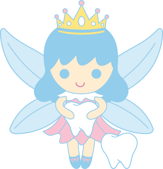 Cute Tooth Fairy Collecting Teeth Free Clip Art - Tooth Fairy, Transparent background PNG HD thumbnail
