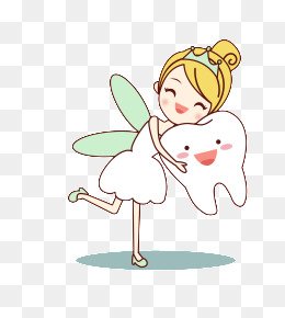 Tooth Fairy, Cartoon, Tooth, Tooth Fairy Png And Vector - Tooth Fairy, Transparent background PNG HD thumbnail