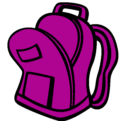Backpack Open Clipart - Unpack Backpack, Transparent background PNG HD thumbnail