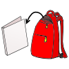Out - Unpack Backpack, Transparent background PNG HD thumbnail