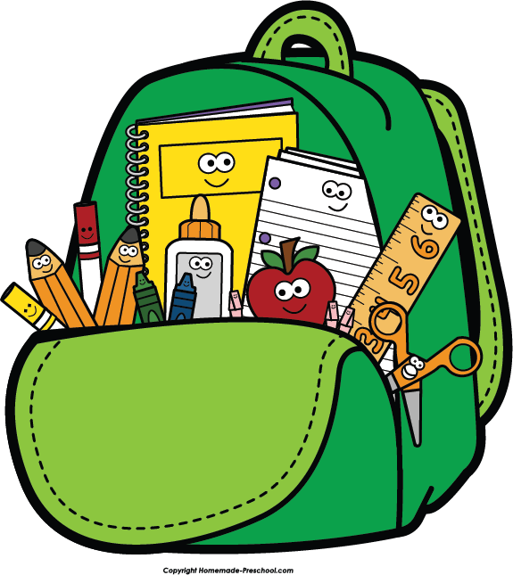 Pin Bag Clipart Kid Backpack #4 - Unpack Backpack, Transparent background PNG HD thumbnail