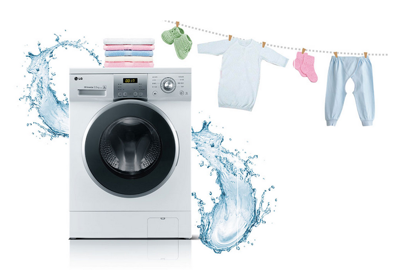PNG Washing Clothes