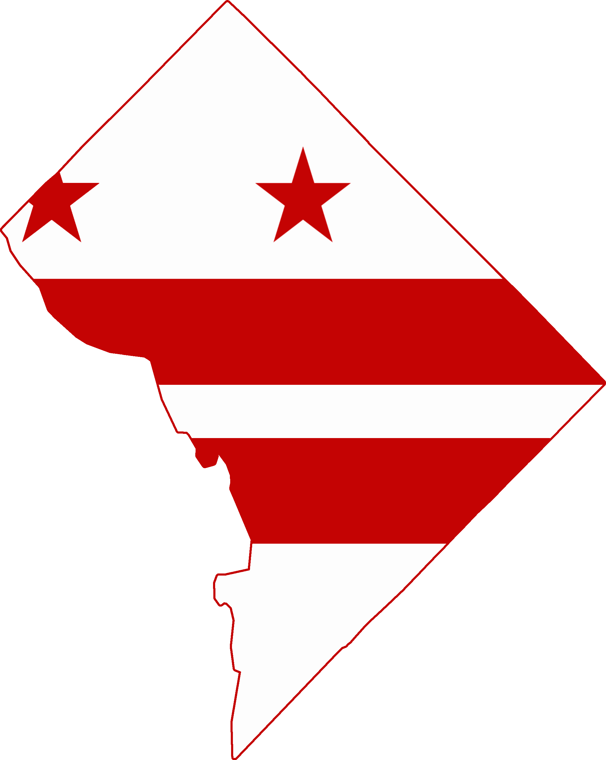 Png Washington Dc - File:flag Map Of Washington Dc.png, Transparent background PNG HD thumbnail