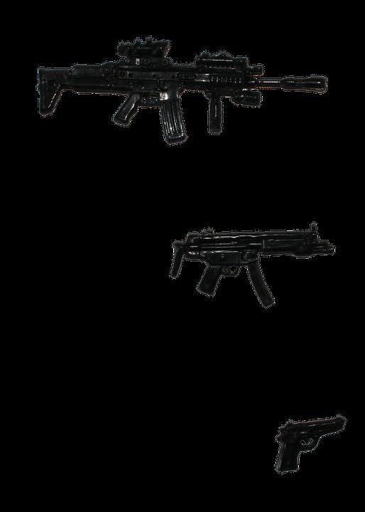 Guns, Weapon, Png, Military, Pistol, Handgun, War, Army - Weapon, Transparent background PNG HD thumbnail