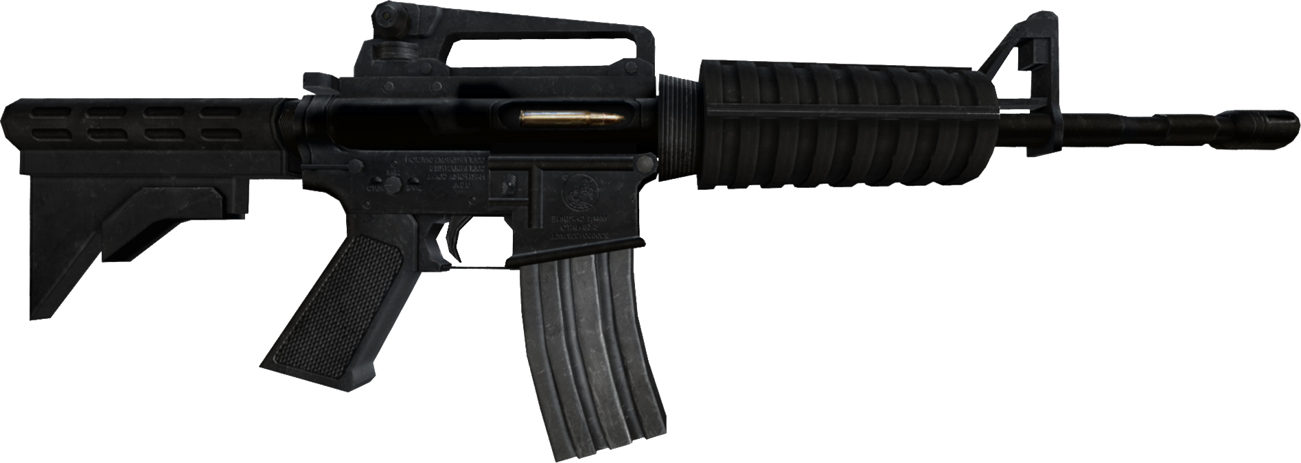 Image   Zewikia Weapon Assaultrifle M4A1 Css.png   Zombie Escape Wiki   Fandom Powered By Wikia - Weapon, Transparent background PNG HD thumbnail