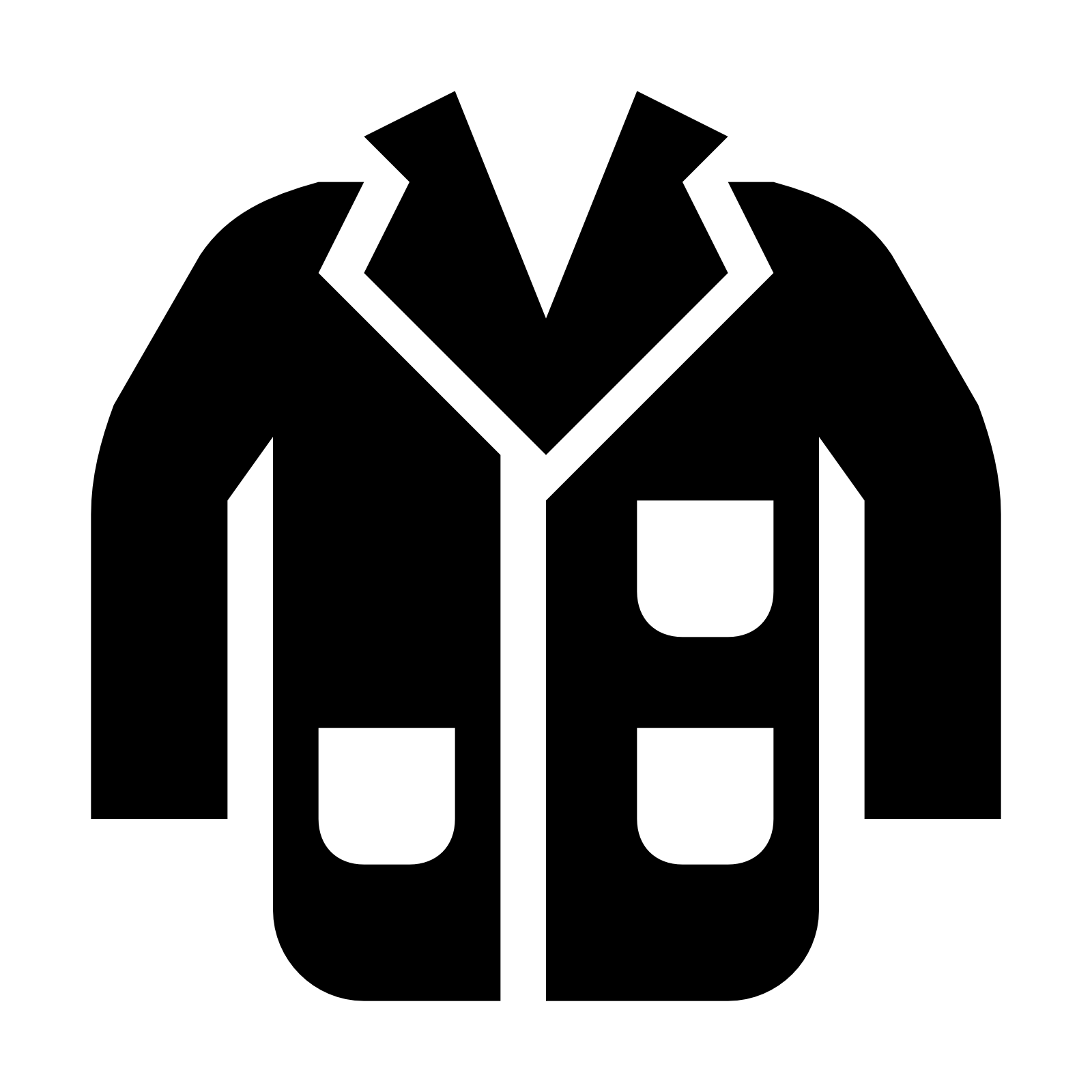 This Is The Lab Coat A Doctor Or Scientist Would Wear. It Opens Right Down - Wear, Transparent background PNG HD thumbnail