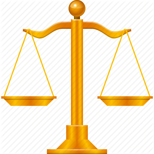 Balance, Law, Lawyer, Legal, Scale, Scales, Weight Icon - Weight Scale, Transparent background PNG HD thumbnail