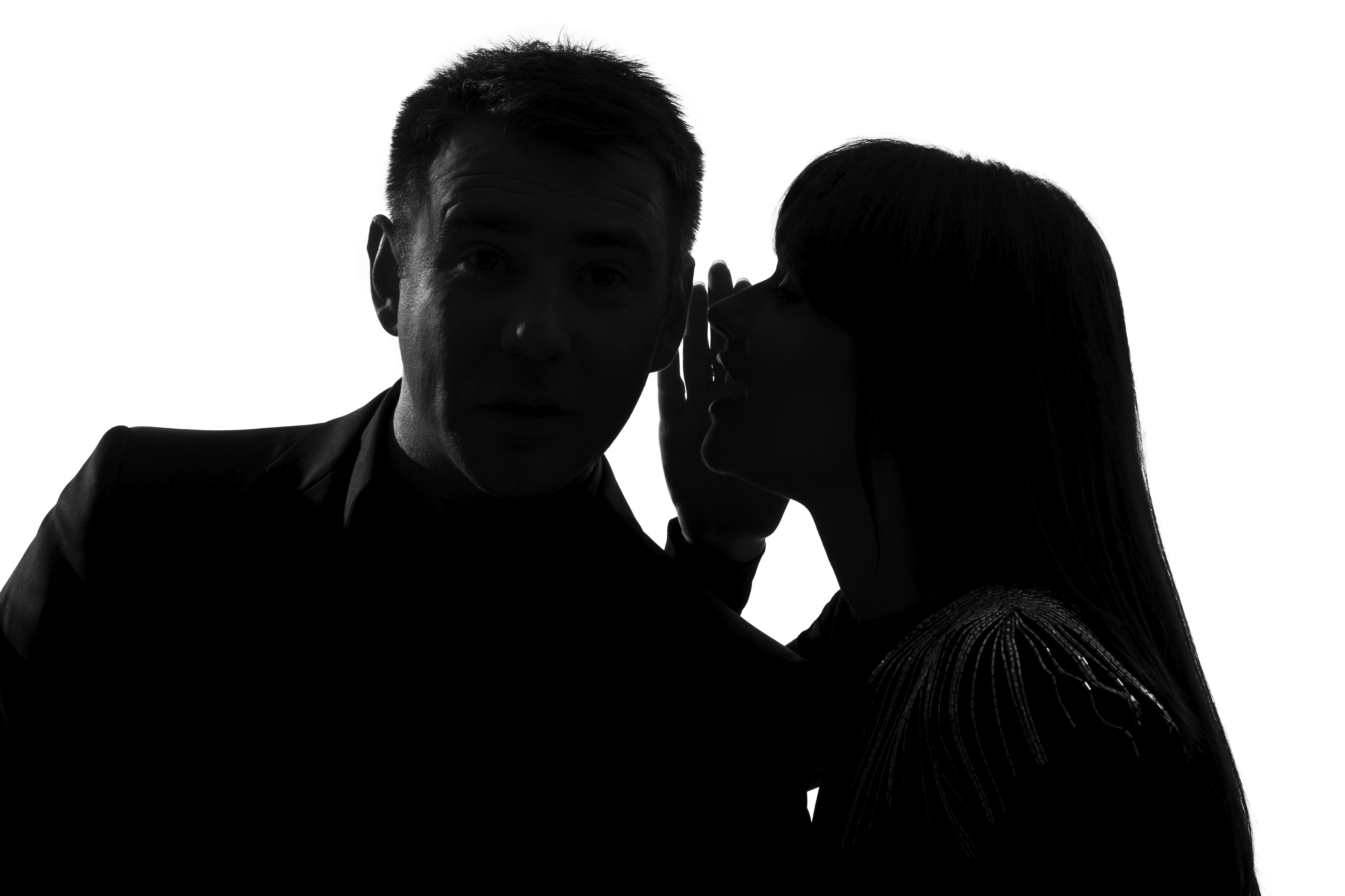 . Hdpng.com One Couple Man And Woman Whispering At Ear - Whisper, Transparent background PNG HD thumbnail