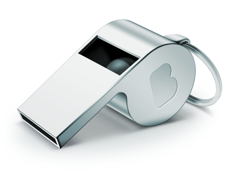 Coachu0027S Whistle By Hbielen Hdpng.com  - Whistle, Transparent background PNG HD thumbnail