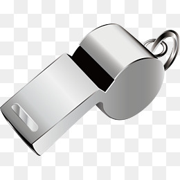 Whistle Png Vector Material, Metal, Sound, Whistler Png And Vector - Whistle, Transparent background PNG HD thumbnail