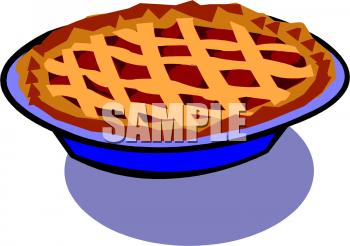 A Whole Fruit Pie Clipart Image - Whole Pie, Transparent background PNG HD thumbnail