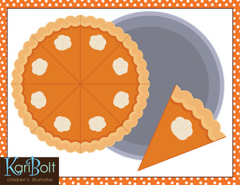 Free Pumpkin Pie Png Files Incudes A Slice, Whole Pie And Pan.great For - Whole Pie, Transparent background PNG HD thumbnail