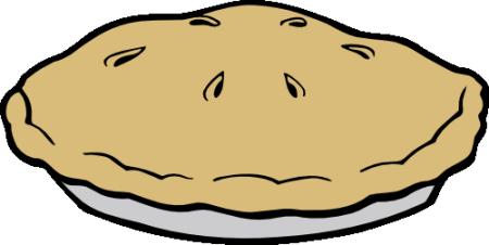 Whole Pie Clipart - Whole Pie, Transparent background PNG HD thumbnail