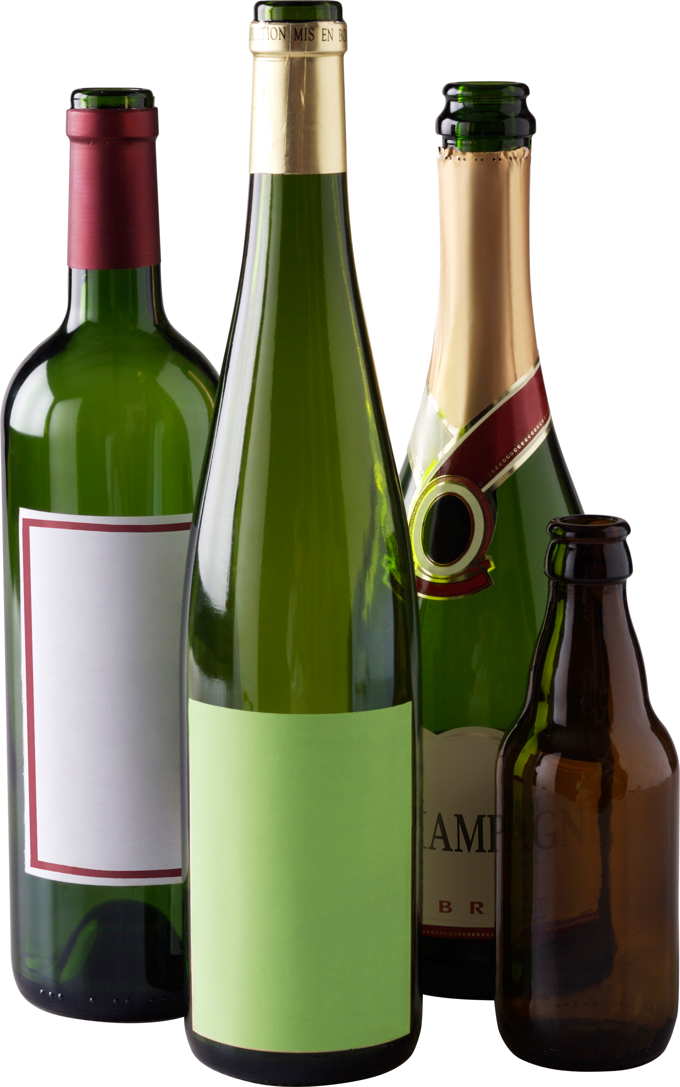 Png Bottles - Wine Bottle And Glass, Transparent background PNG HD thumbnail