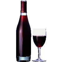 Wine Glass Bottle Png Png Image - Wine Bottle And Glass, Transparent background PNG HD thumbnail