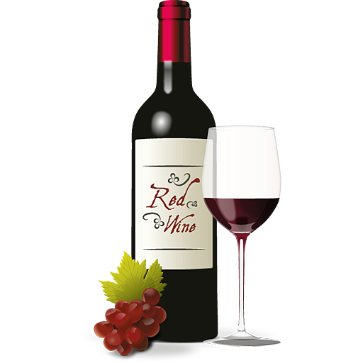 Wine Png Image - Wine Bottle And Glass, Transparent background PNG HD thumbnail