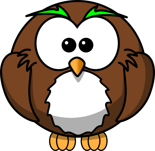 Wise Owl Clip Art At Clker Pluspng.com   Vector Clip Art Online, Royalty Free U0026 Public Domain - Wise Owl, Transparent background PNG HD thumbnail
