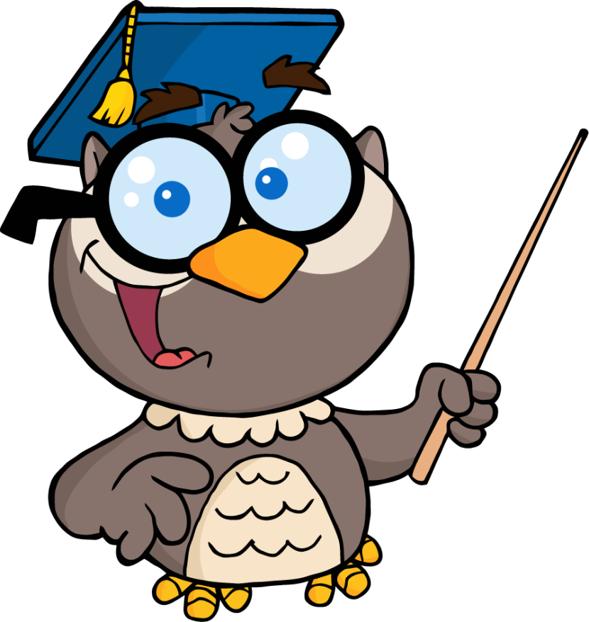 Wise Owl Clipart - Wise Owl, Transparent background PNG HD thumbnail