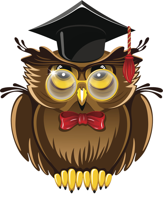 Wise Owl Clipart U2013 Item - Wise Owl, Transparent background PNG HD thumbnail