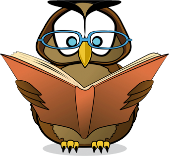 Wise Owl Says Read More Books - Wise Owl, Transparent background PNG HD thumbnail