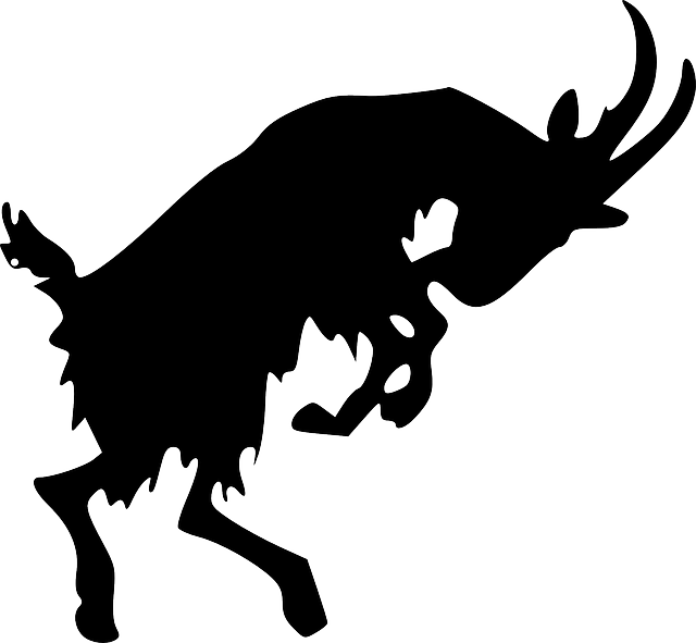 Kostenlose Vektorgrafik: Ziege, Tier, Silhouette, Bergziege   Kostenloses Bild Auf Pixabay   294456 - Ziegenbock, Transparent background PNG HD thumbnail