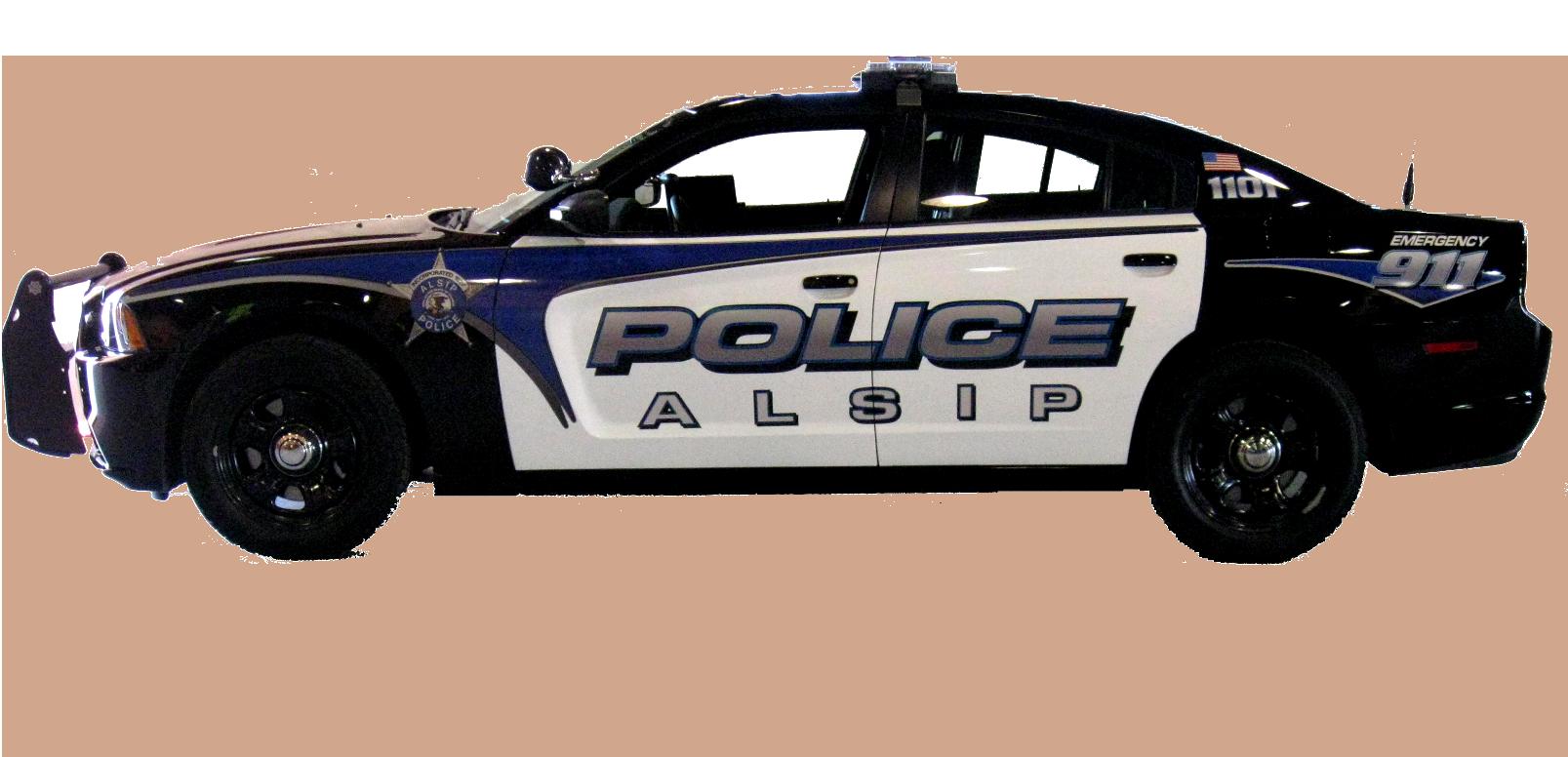 Black Ford Police Interceptor