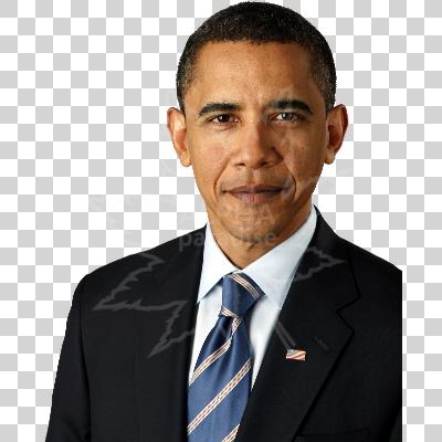 Portrait Of U.s. President Barack Obama - Barack Obama, Transparent background PNG HD thumbnail