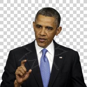 President Obama Explains An Idea - Barack Obama, Transparent background PNG HD thumbnail