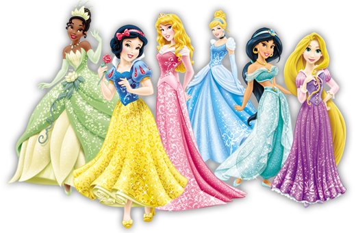 Princesses.png - Disney Princesses, Transparent background PNG HD thumbnail