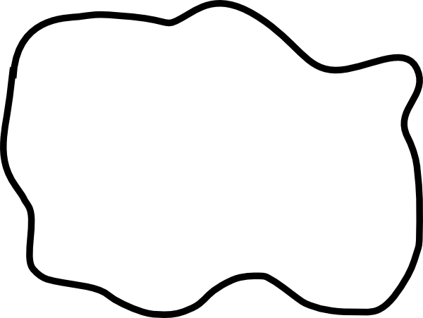 Puddle PNG Black And White