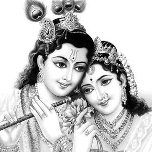 Radha Krishna Hd Livewallpaper - Radha Krishna, Transparent background PNG HD thumbnail