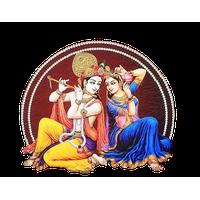 Radha Krishna Png File Png Image - Radha Krishna, Transparent background PNG HD thumbnail