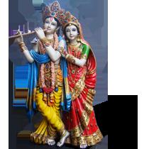 Radha Krishna Transparent Png Image - Radha Krishna, Transparent background PNG HD thumbnail