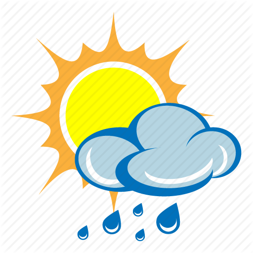 Rain And Sun PNG
