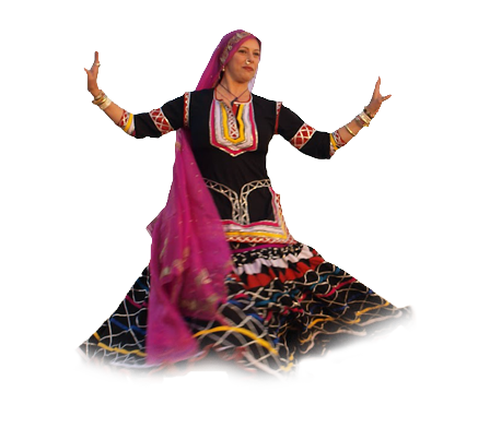 Rajasthani Dance PNG