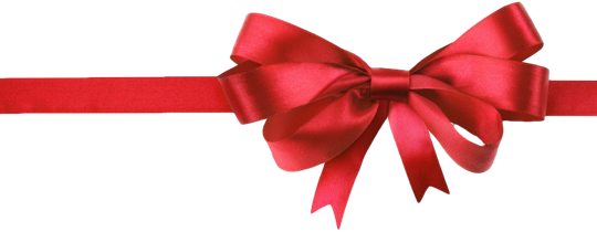 Red Christmas Bow PNG HD