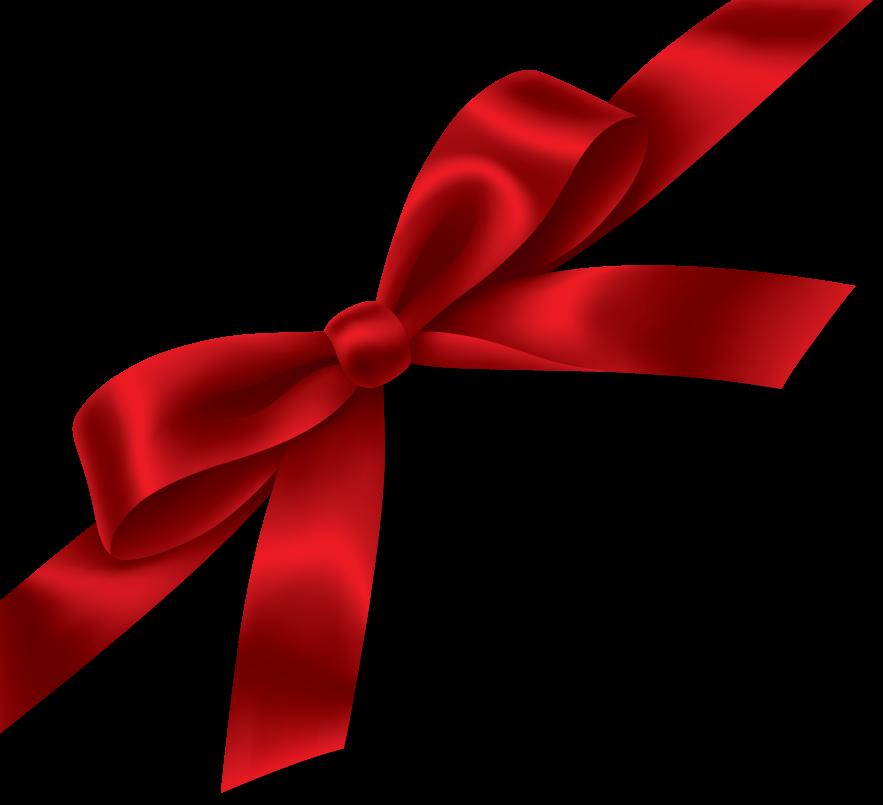 Red Gift Ribbon Png Image - Ribbon, Transparent background PNG HD thumbnail