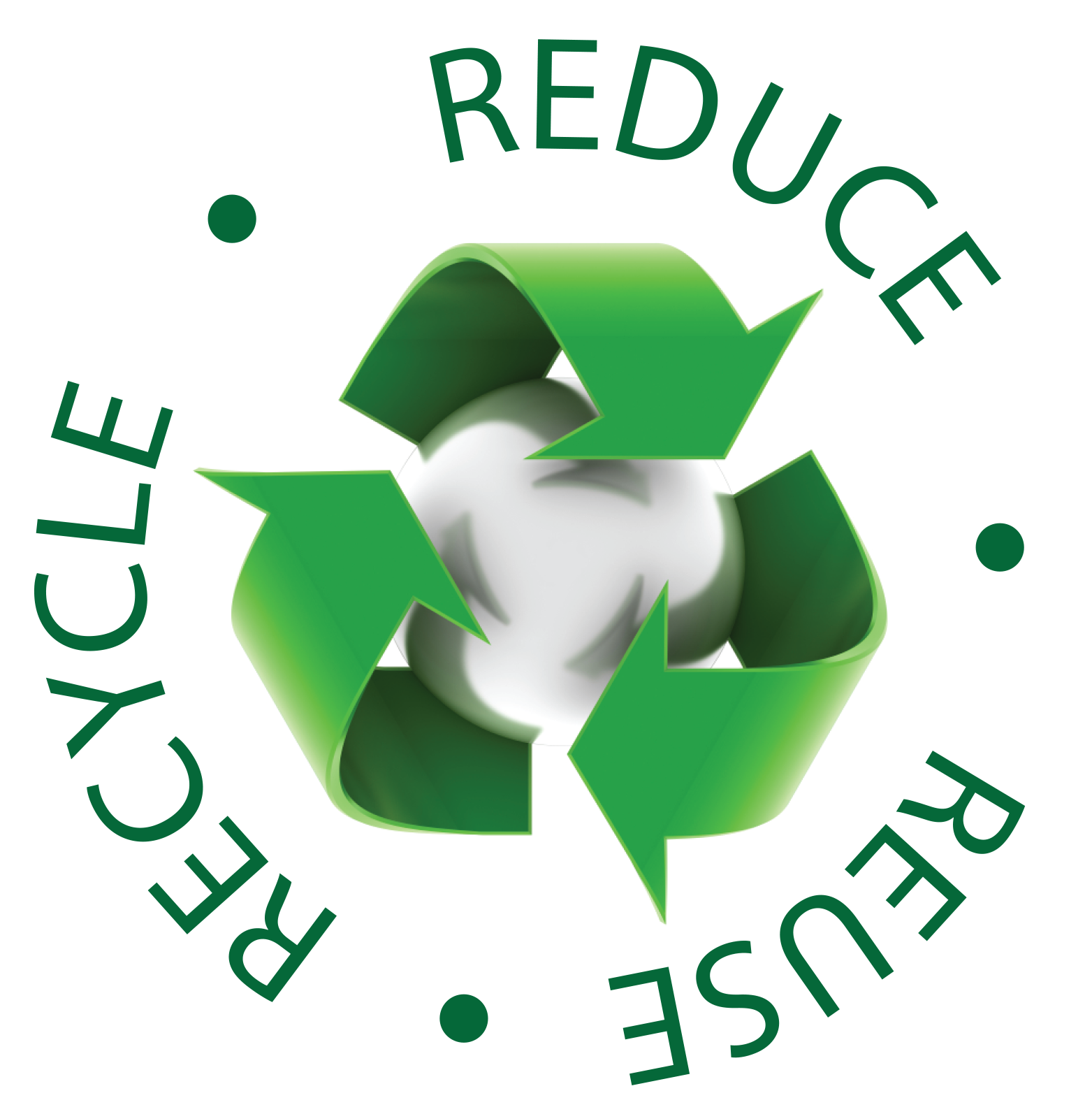 Reduce Reuse Recycle Earth PNG